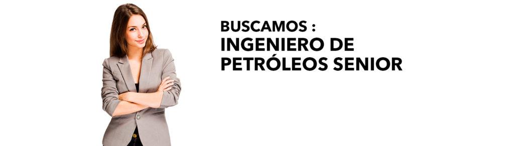 GAE - Buscamos Ingeniero de Petróleos Senior