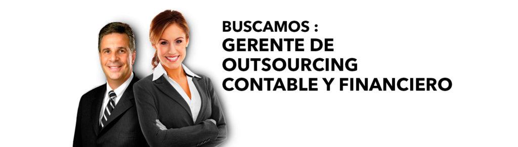Gestión y Auditoría Especializada - Buscamos gerente de outsourcing contable y financiero